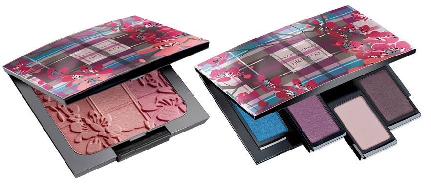 ArteDeco  Beauty Meets Fashion Makeup Collection for Fall 2013 blush and eye shadows