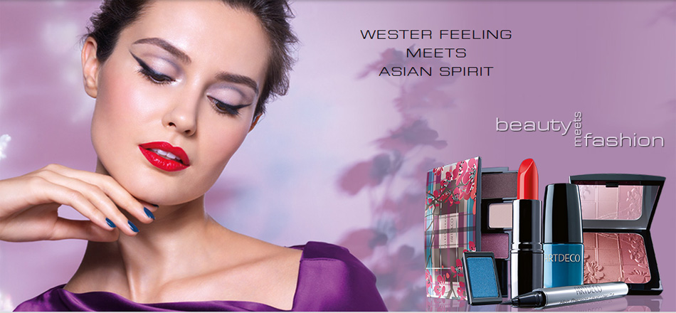 ArteDeco  Beauty Meets Fashion Makeup Collection for Fall 2013