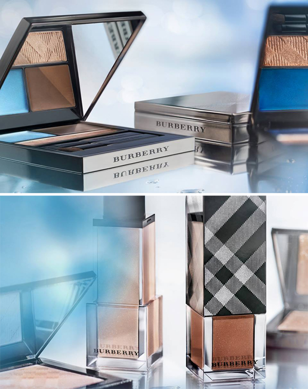Burberry Summer Splash Makeup Collection for Summer 2013 promo