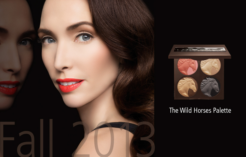 Chantecaille Thw Wild Horses Makeup Palette Fall 2013