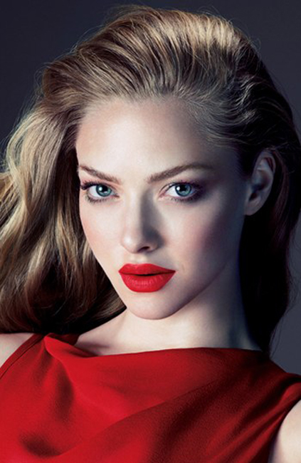 Cle De Peau Makeup Collection for Fall 2013 promo with Amanda Seyfried
