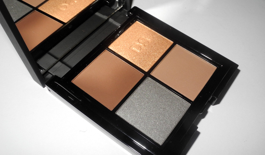 Daniel Sandler Eye Shadow Quad in Beyond Sunset Review and Swatches