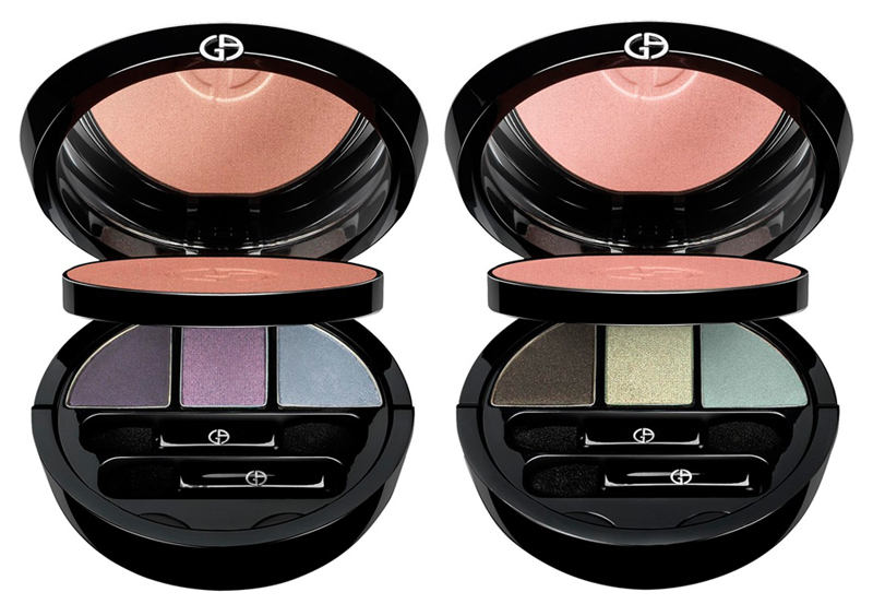 Giorgio Armani Kaleidoscope Makeup Collection for Fall 2013 palettes