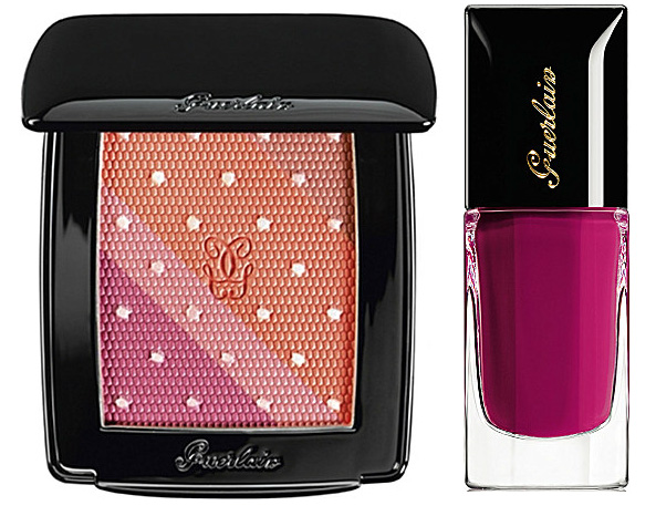 Guerlain Violette de Madame Makeup Collection for Fall 2013 blush and nail polish