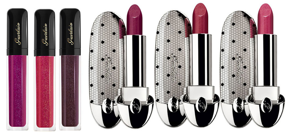 Guerlain Violette de Madame Makeup Collection for Fall 2013 lip products