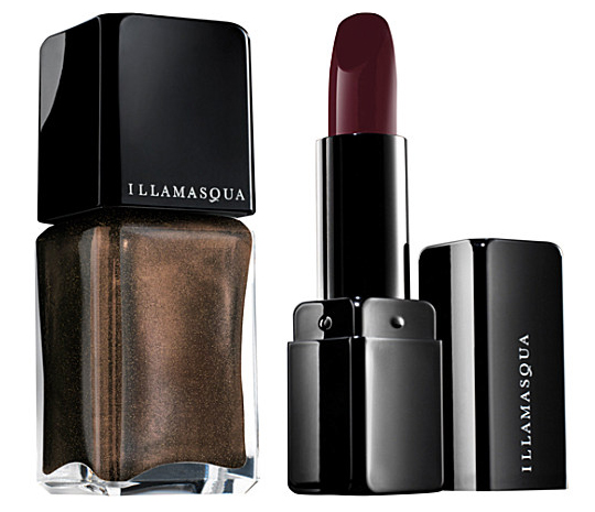 Illamasqua Sacred Hour Makeup Collection lipstick and nail polish