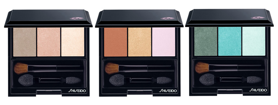 Shiseido Makeup Collection for Fall 2013 Luminizing Satin Eye Color Trio