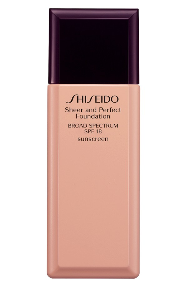 Shiseido  Sheer & Perfect Foundation SPF  18