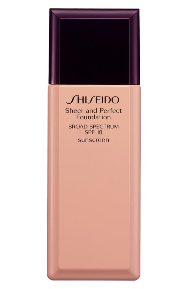 Shiseido  Sheer & Perfect Foundation SPF  18