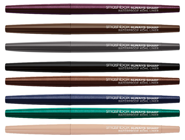Smashbox Always Sharp Waterproof Kôhl Liner fall 2013