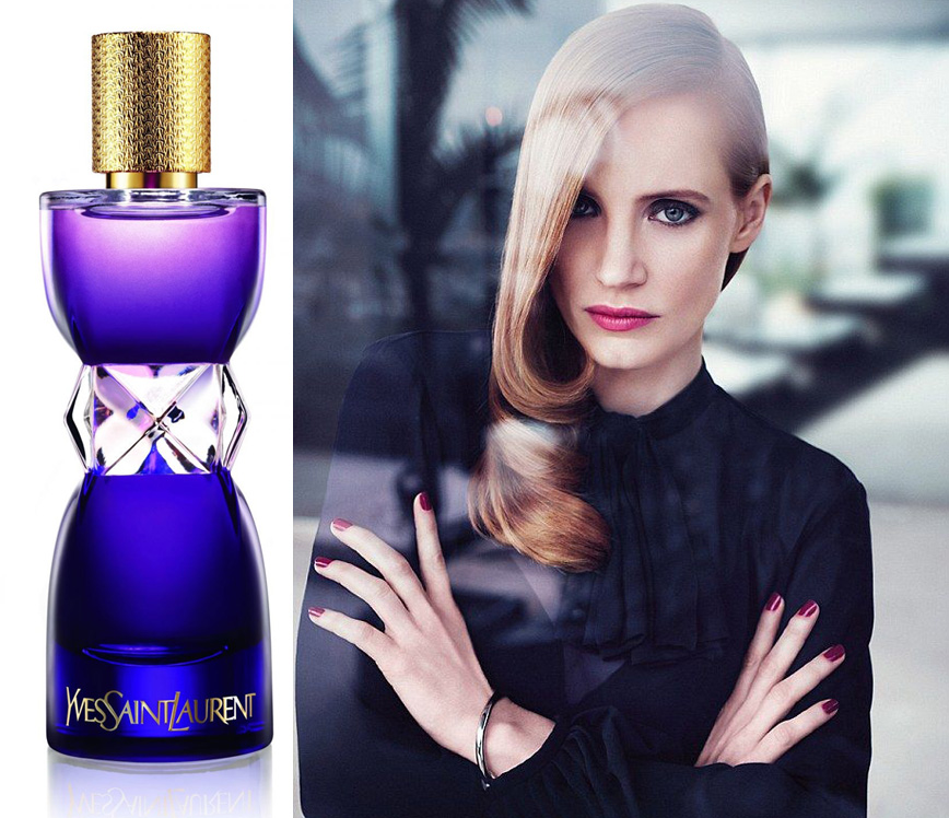 YSL Manifesto Elixir with Jessica Chastain promo Fall 2013