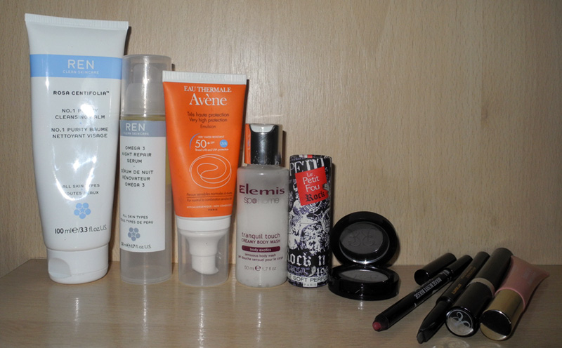 August Beauty Favourites Makeup4all Ren, Avene, Hourglass, Elemis, Rouge Bunny Rouge