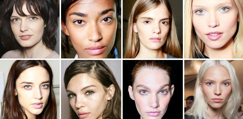 Beauty from Fashion Weeks SS14