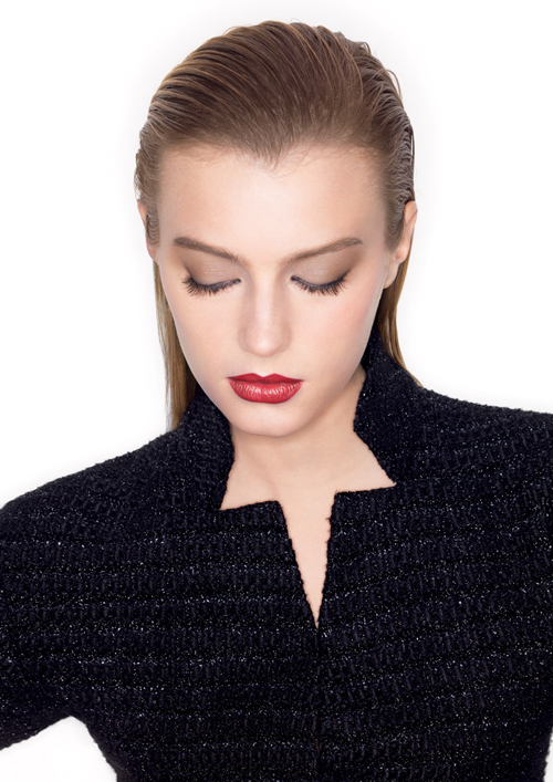 Chanel Rouge Allure Moire Makeup Collection for Autumn 2013  Sigrid Agren