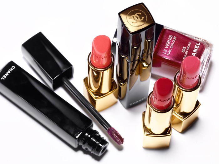 Chanel Rouge Allure Moire Makeup Collection for Autumn 2013  promo 2