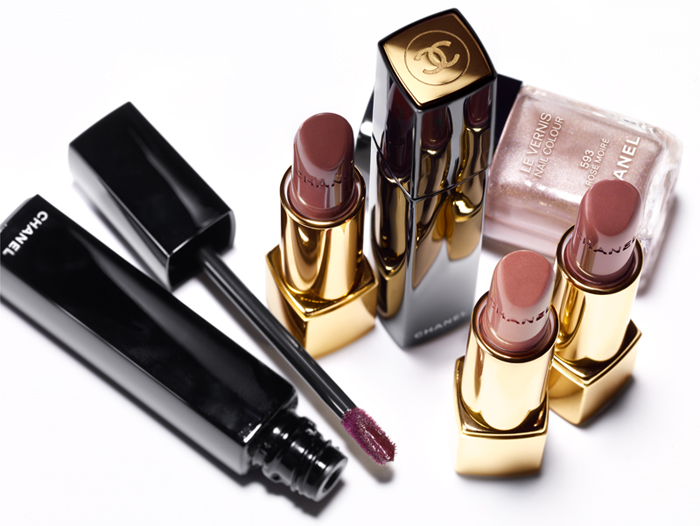 Chanel Rouge Allure Moire Makeup Collection for Autumn 2013  promo