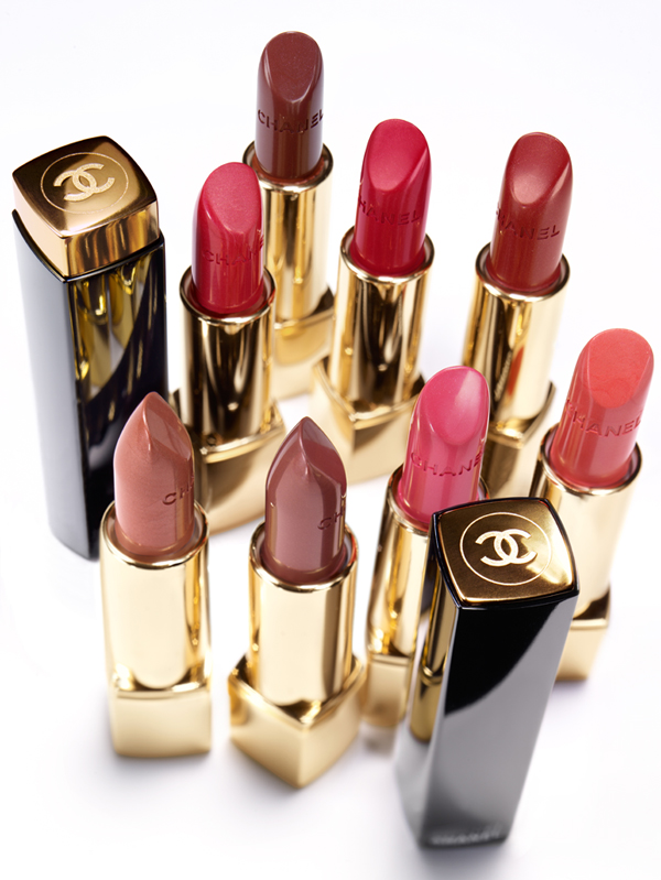 Chanel Rouge Allure Moire Makeup Collection for Autumn 2013  rouge Allure