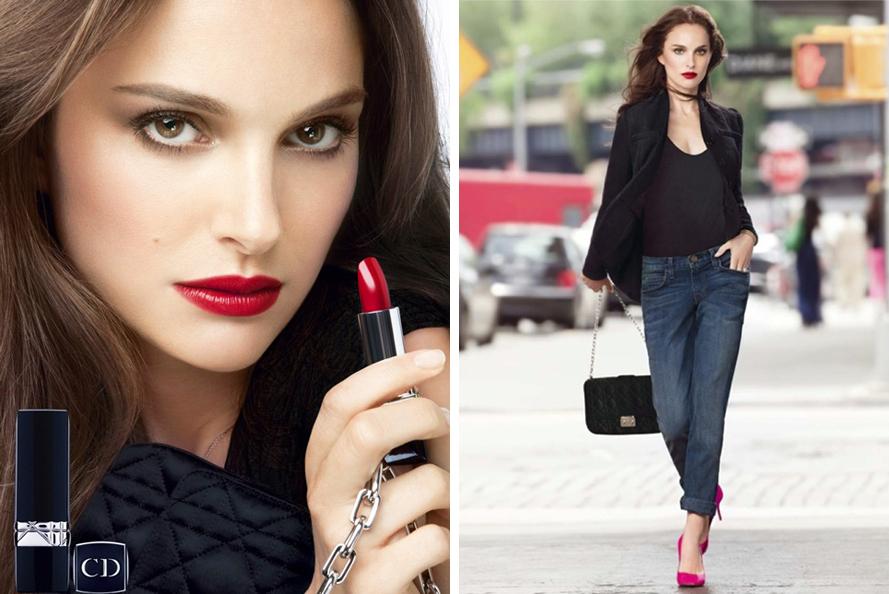 Dior Rouge Dior Lipstick fall 2013 natalie portman promo1