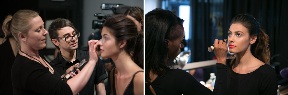 Get the Look from Christian Siriano Spring 2014 NYFW with Houglass Cosmetics backstage