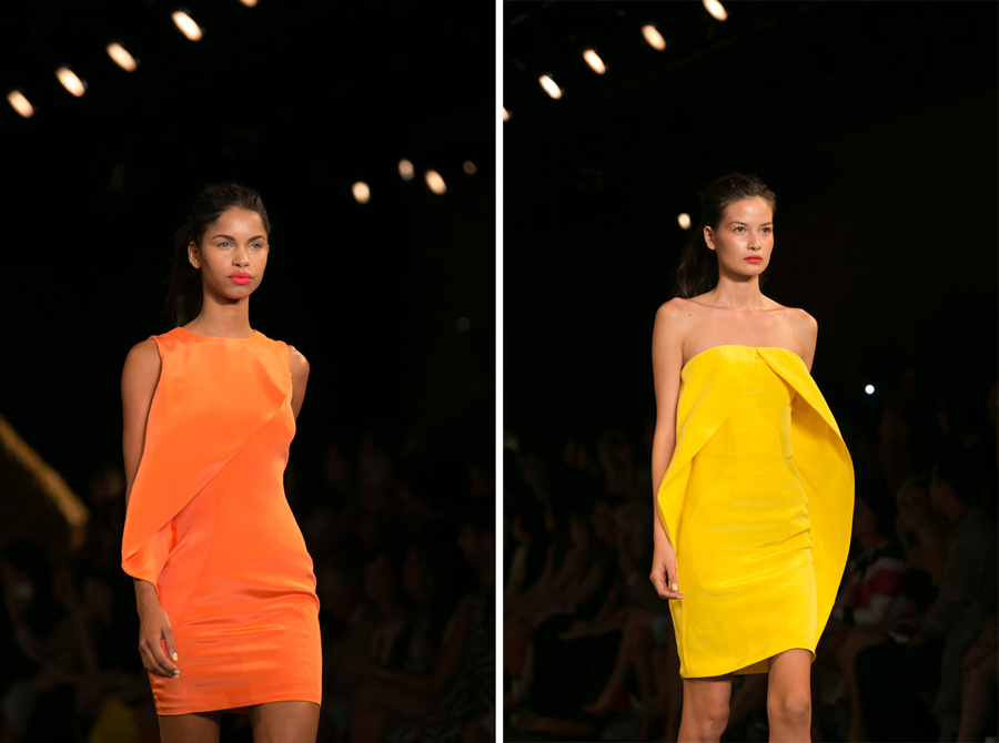 Get the Look from Christian Siriano Spring 2014 NYFW with Houglass Cosmetics clothes