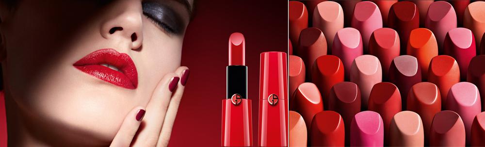Giorgio Armani Rouge Ecstasy Lipstick fall 2013 promo