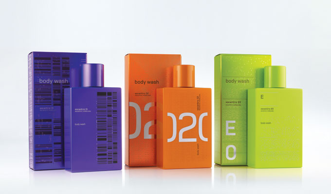 Molecule 01 02 and 03 Shower Gels promo