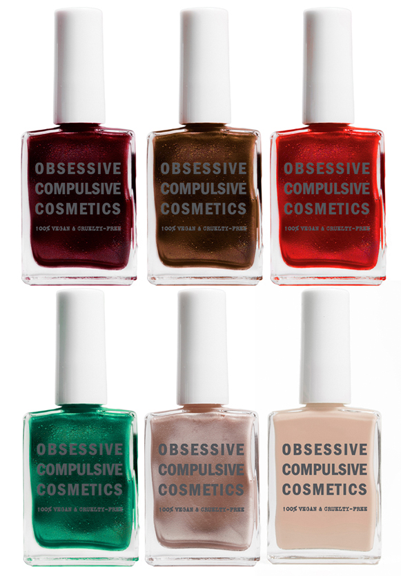 Obsessive Compulsive Cosmetics Nail Lacquer for Fall 2013