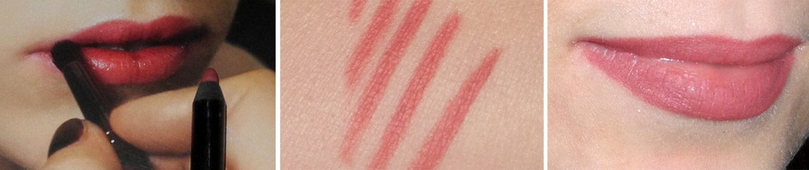 Rouge Bunny Rouge Long-Lasting Lip Pencil Forever Yours in Marco Review and Lip Swatches 1