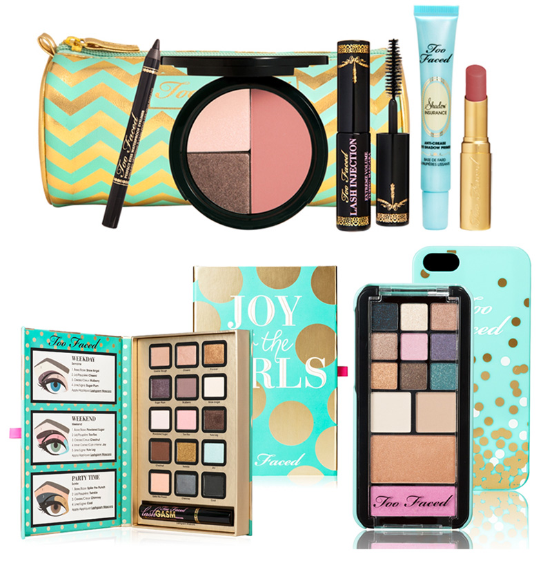 Too Faced Joy To The Girls Makeup Collection for Holiday 2013