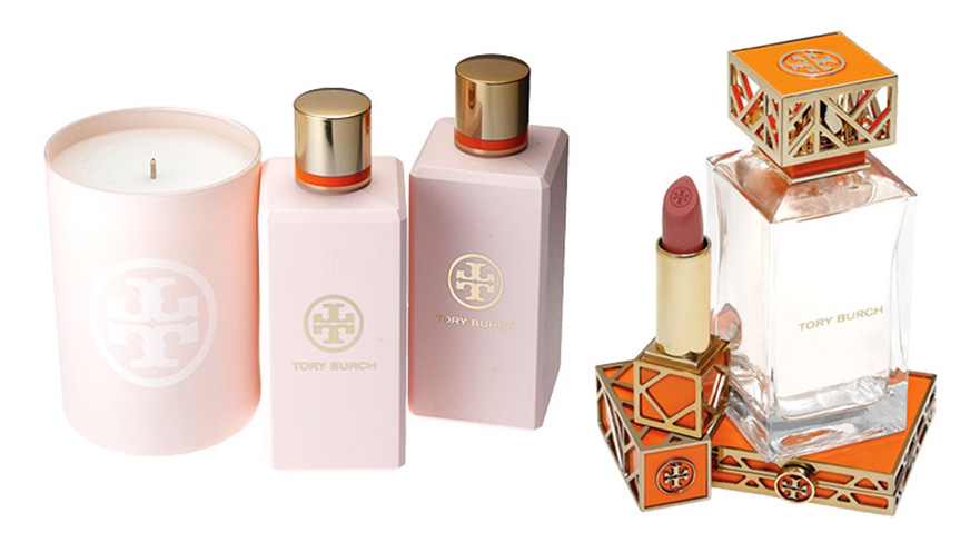 Tory Burch beauty line perfume and candle