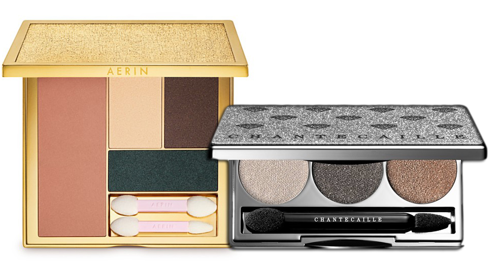 AERIN Winter Color Palette and  Chantecaille The Diamonds palette  holiday 2013