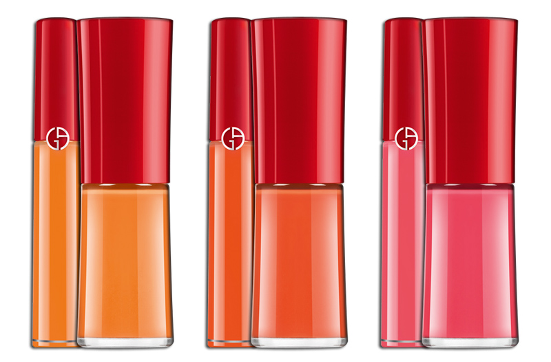 Armani Eccentrico Makeup Collection for Christmas 2013 nails and lips