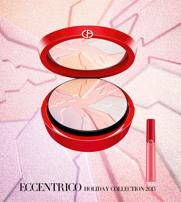 Armani Eccentrico Makeup Collection for Christmas 2013 palette