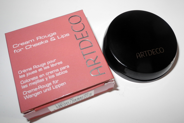 ArtDeco Cream Rouge For Cheeks and Lips in 17 Creamy Mauve Review and Swatches