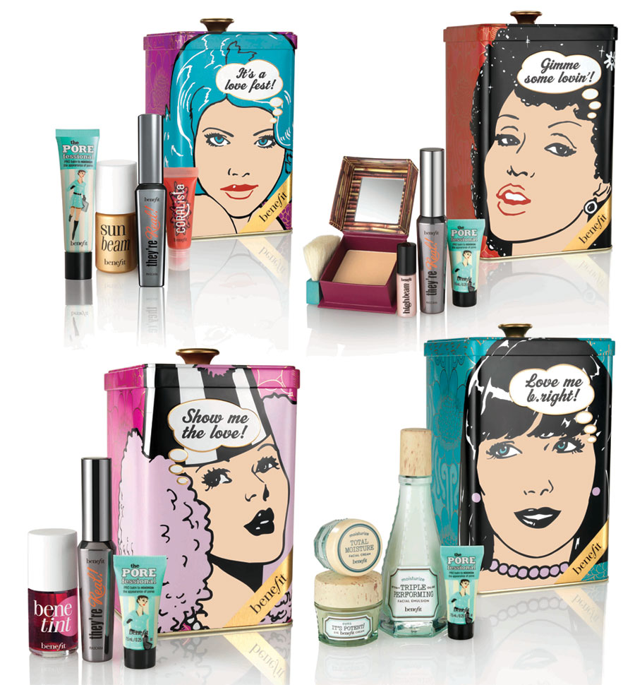 Benefit Cosmetics Makeup and Beauty Sets for Christmas 2013