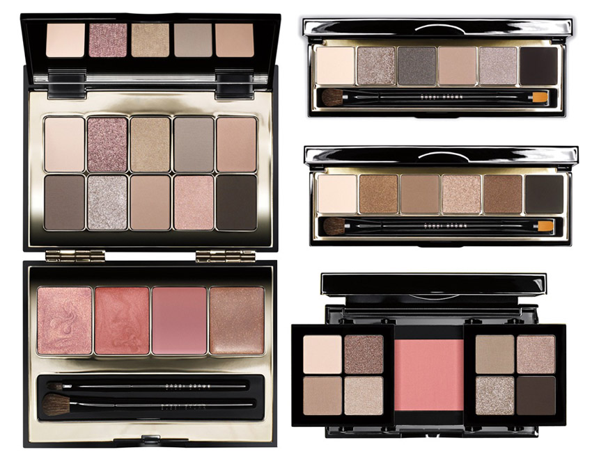 Bobbi Brown Makeup Collection for Holiday 2013 eye palettes