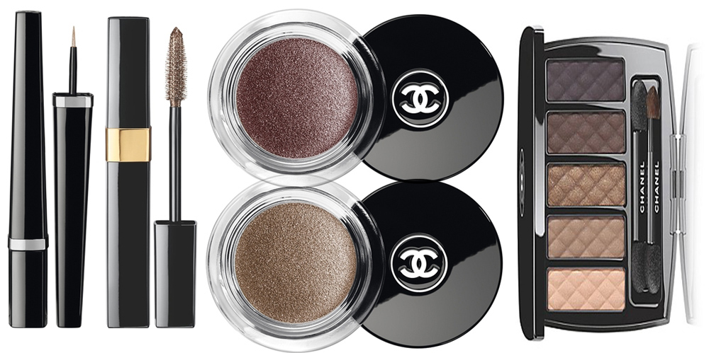 Chanel Nuit Infinie de Chanel Makeup Collection for Christmas 2013 eye products