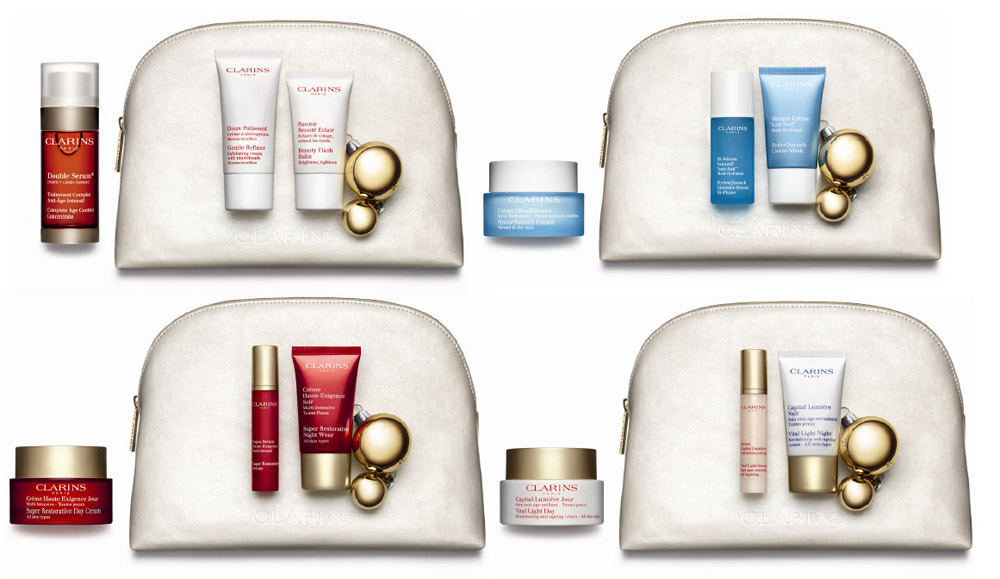 Clarins Christmas Gift Sets 2013 face value sets