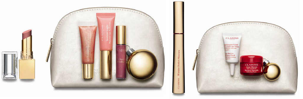 Clarins Christmas Gift Sets 2013 makeup lips and eyes