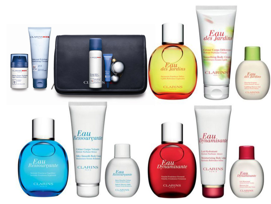 Clarins Christmas Gift Sets 2013 men and fragrance