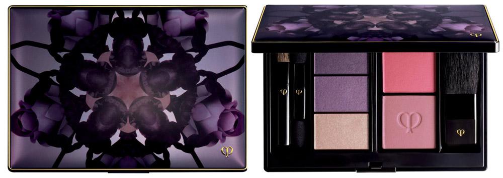 Cle de Peau Beaute Enchanted Winter Garden Makeup Collection for Christmas 2013 palette