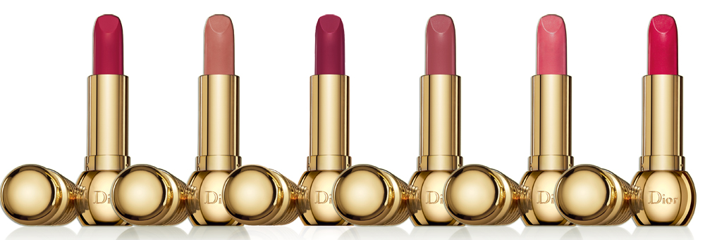 Dior Golden Winter Makeup Collection for Christmas 2013 lipsticks
