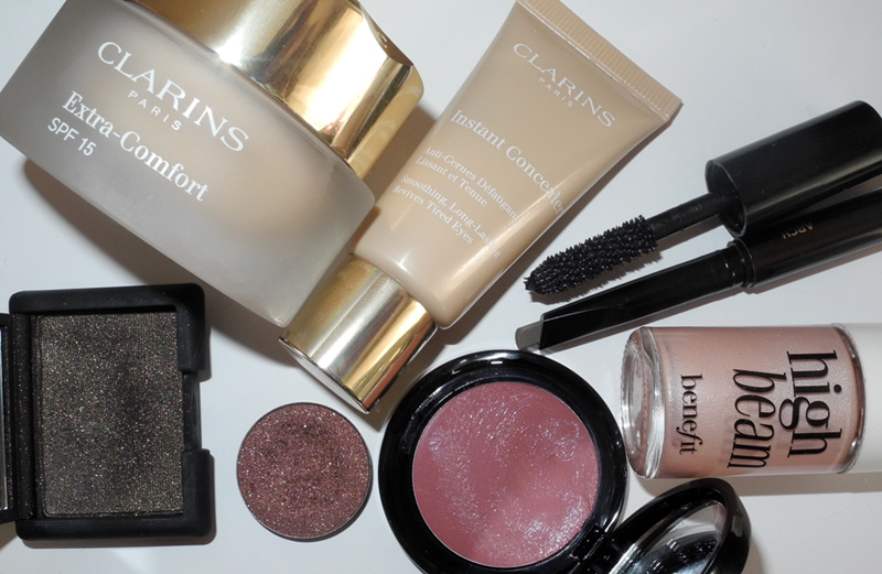 Face of The Day Clarins banefit ArtDeco NARS Inglot Hourglass Chanel