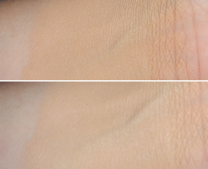 Hourglass Immaculate Liquid Powder Foundation Review and Swatches 1