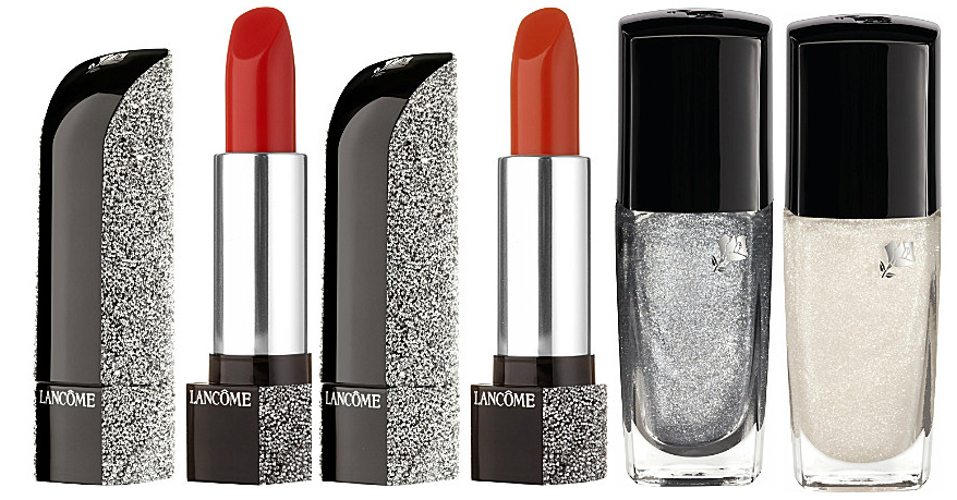 Lancome Happy Holidays Makeup Collection for Christmas 2013 lips and nails