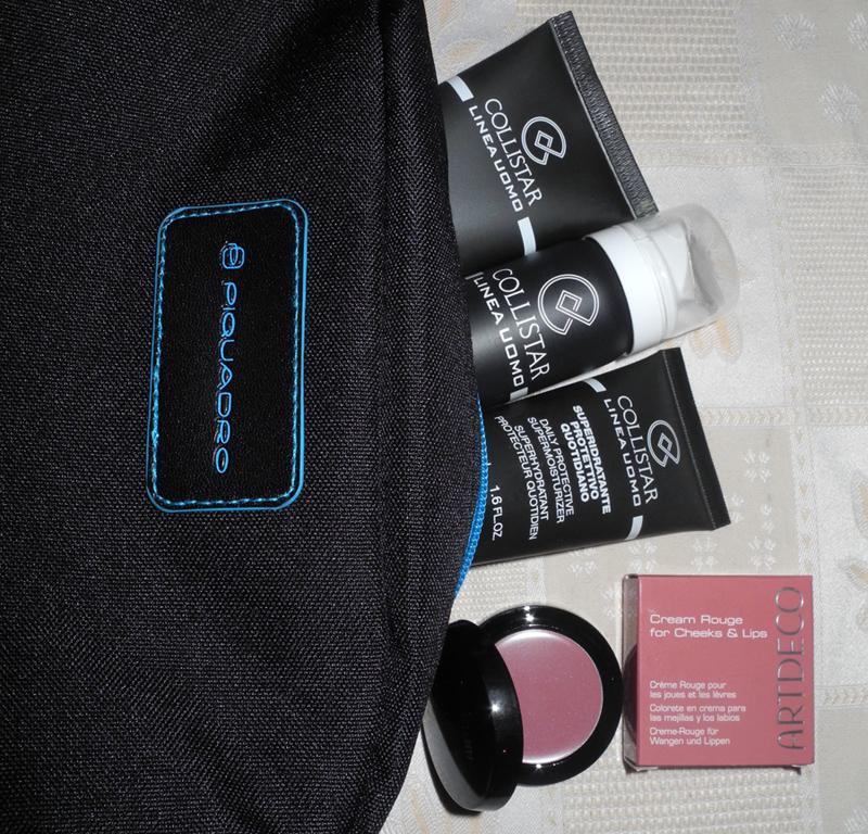 New Beauty Purchases Collistar men kit and ArtDeco cream blush