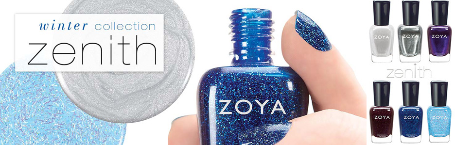 Zoya Zenith nail polish collection for winter 2013