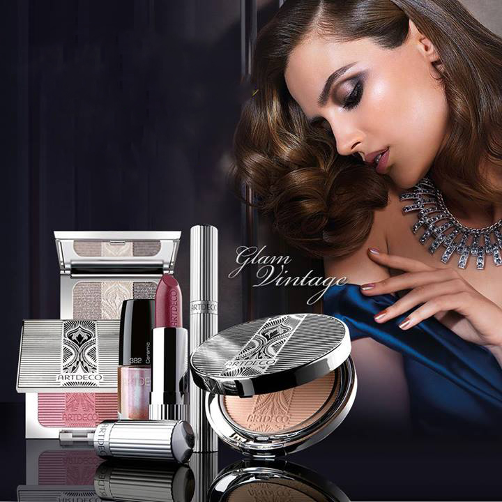 ArtDEco Glam Vintage Makeup Collection for Holiday 2013 promo
