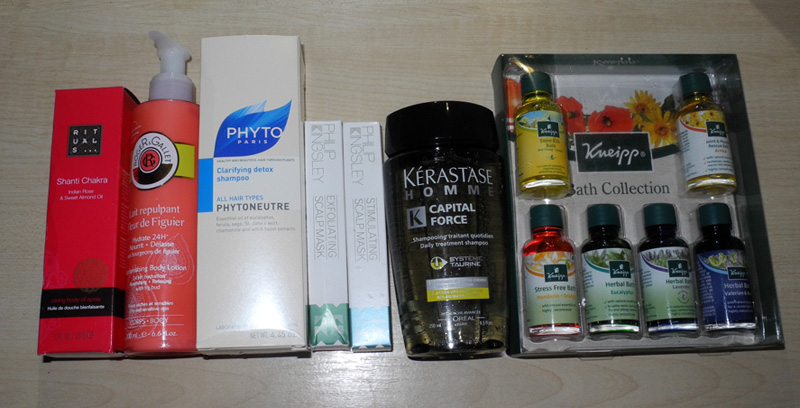 Beauty Purchases Phyto, Rituals, kneipp, Kerastase, Philip KIngsley