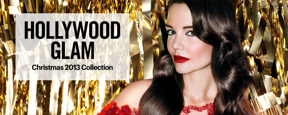 Bobbi Brown Old Hollywodd Makeup Collection for Christmas 2013 with Katie Holmes